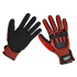Sealey SSP38XL - Cut & Impact Resistant Gloves - X-Large