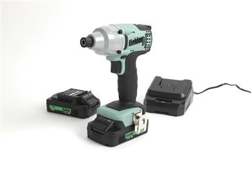 "Kielder KWT-005-07 - 1/4"" 18v 200Nm Impact Driver with 2 x 2.0Ah Battery"