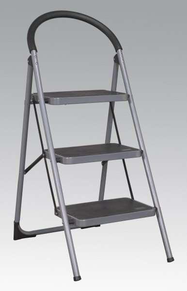 Sealey Asl23 Step Stool 3 Tread 150kg Capacity Ccw Tools