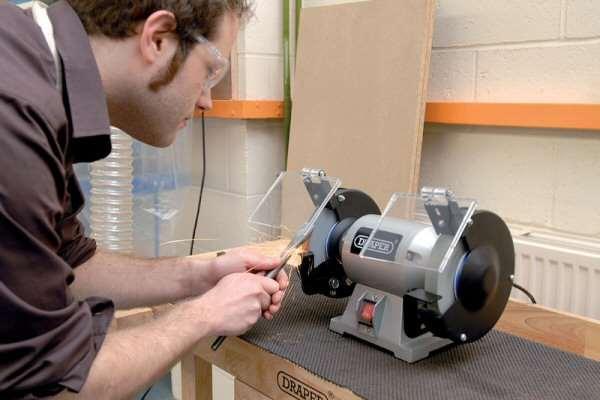 Draper 66804 G150c 150mm 230v Bench Grinder Ccw Tools
