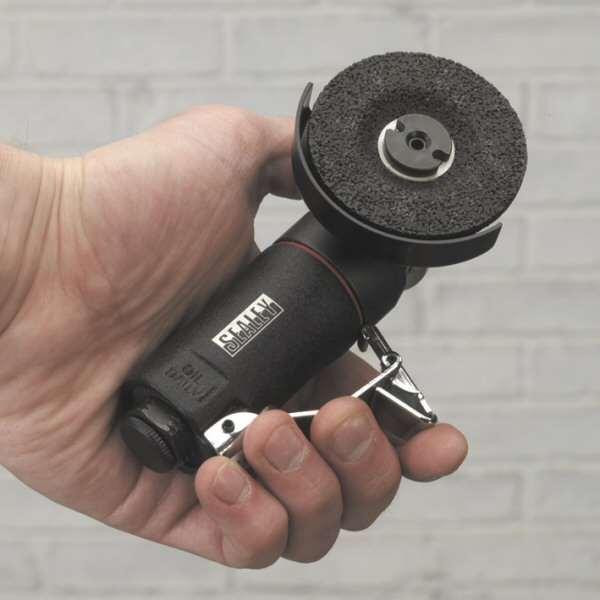 Sealey SA153 Air Mini Angle Grinder 50mm CCW Tools