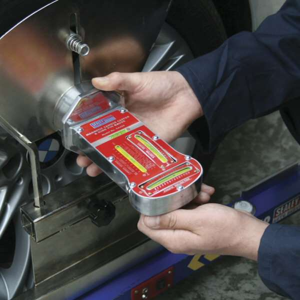 Sealey Ga450 Magnetic Camber Castor Amp King Pin Gauge