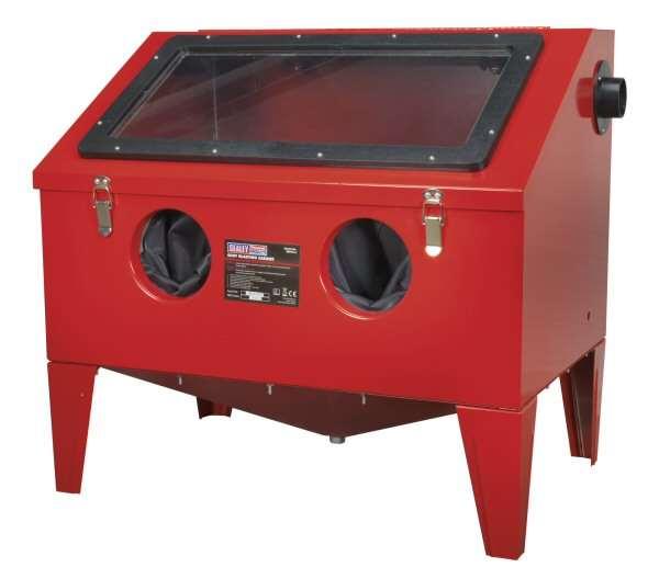 Sealey Sb972 Shot Blasting Cabinet 760 X 510 X 715mm