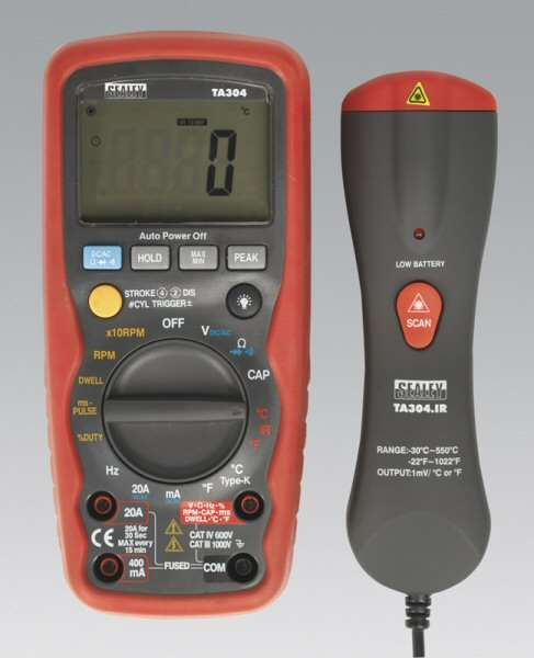 draper digital multimeter instructions