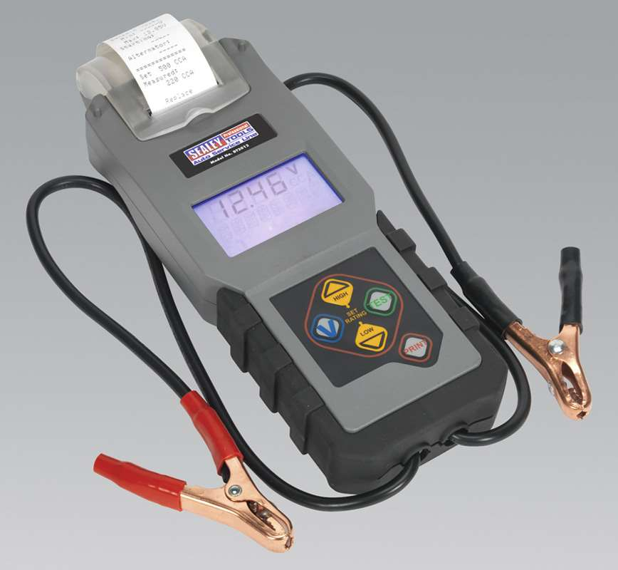 Electronic Battery Tester : Sealey bt digital battery alternator tester with