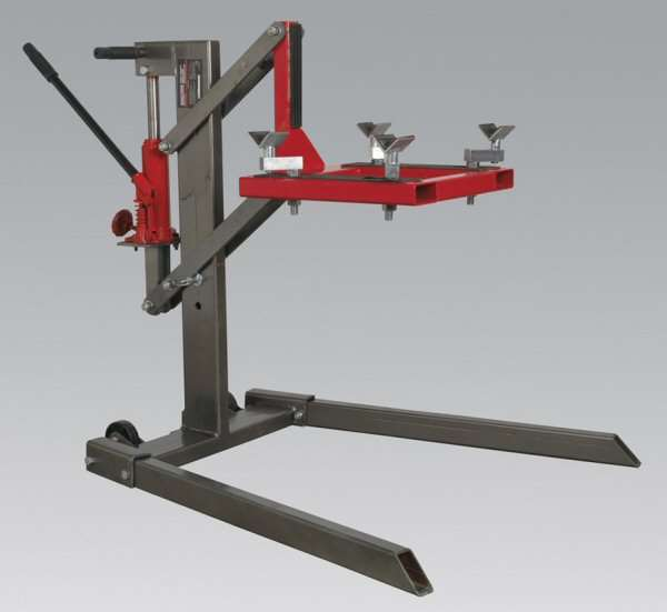 Sealey Mcl500 Single Post Motorcycle Lift 450kg Capacity Ccw Tools