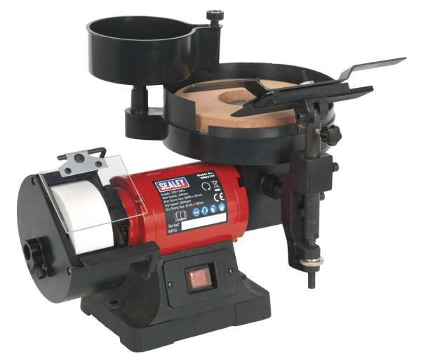 Sealey Sms2107 Bench Grinder Sharpener Wet Amp Dry 216 200