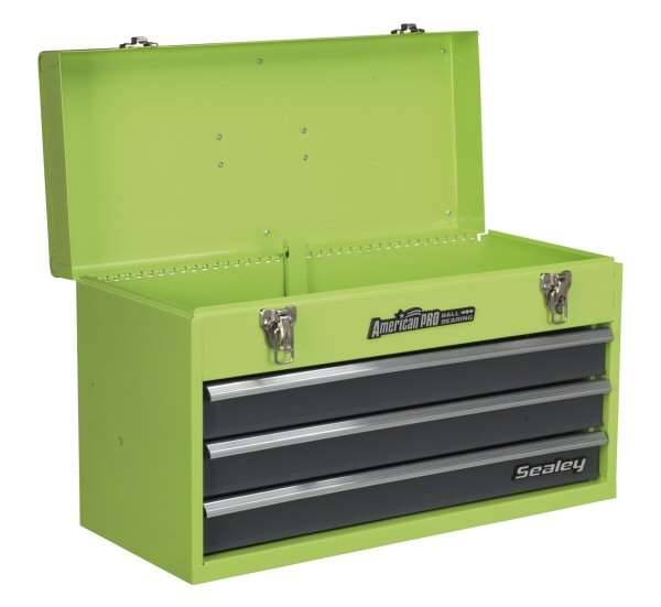 Sealey Ap9243bbhv Tool Chest 3 Drawer Portable With Ball