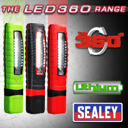 Cordless LED Inspection Lamps