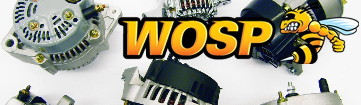 WOSP High Output Alternators