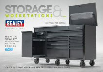 Sealey Storage & Workstation Promotion 2018